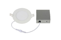 ETL Certified 9w 5 Years Warranty 110lm Energy Star 4in/6in Led Panel Lights for N-America Market